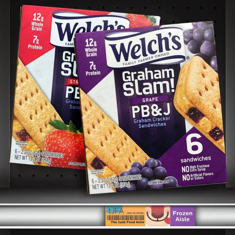 Welch's Grand Slam PB&J Graham Cracker Sandwiches