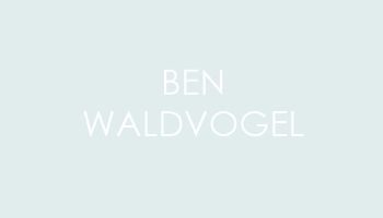 Ben Waldvogel, Building & Grounds Support