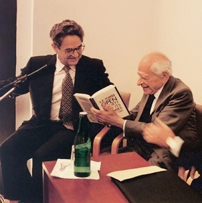 George Soros y Karl Popper