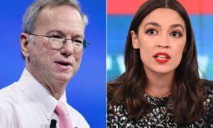 Eric Schmidt and AOC