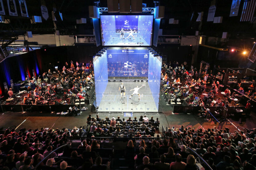 The U.S. Open finals will take place on World Squash Day