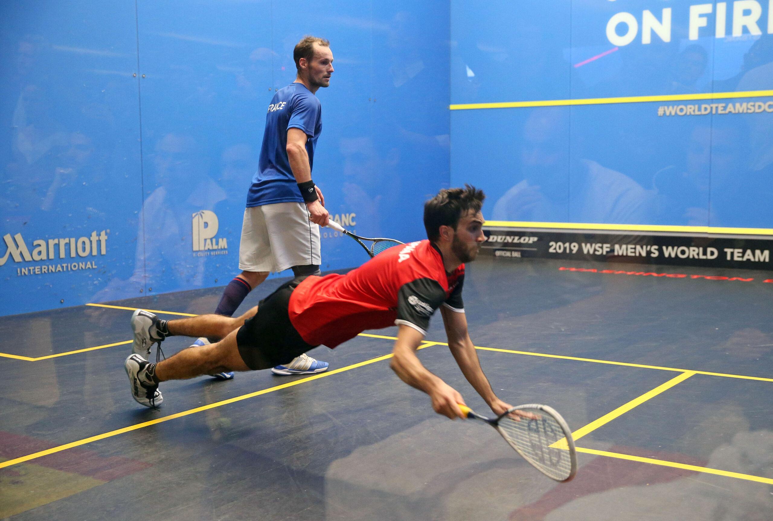 Gregory Gaultier, France v Iker Pajares, Spain