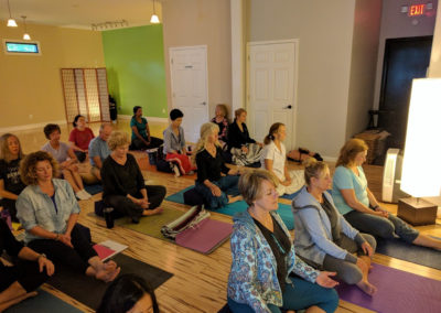 Meditation at Catfit Yoga