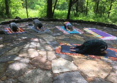 Morning Yoga at the Patio