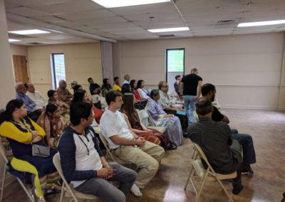 Avi talk at the Nashville temple