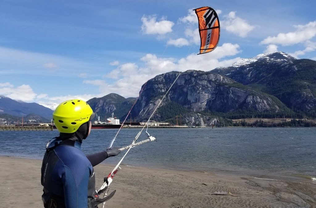 What makes a good kite surfer?