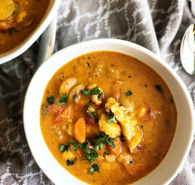 Comforting Creamy Creole Vegetable Chowder – Food for a Pandemic