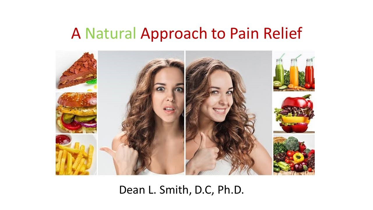 A Natural Approach to Pain Relief