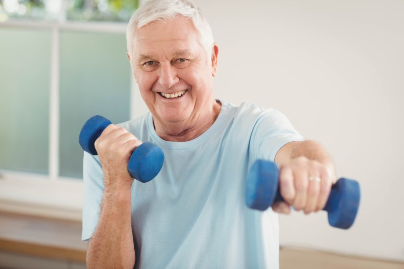 Muscle, Strength Training and Healthy Aging