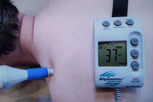 Pressure algometer