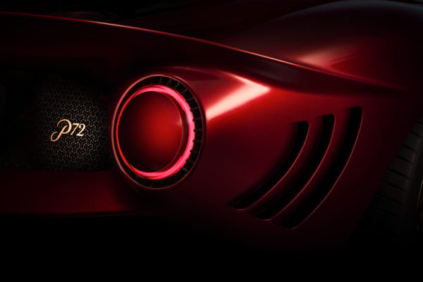 De-Tomaso-P72-Rear-Light