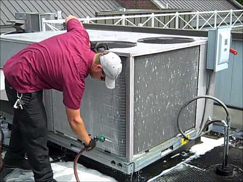 Commercial HVAC cleaning