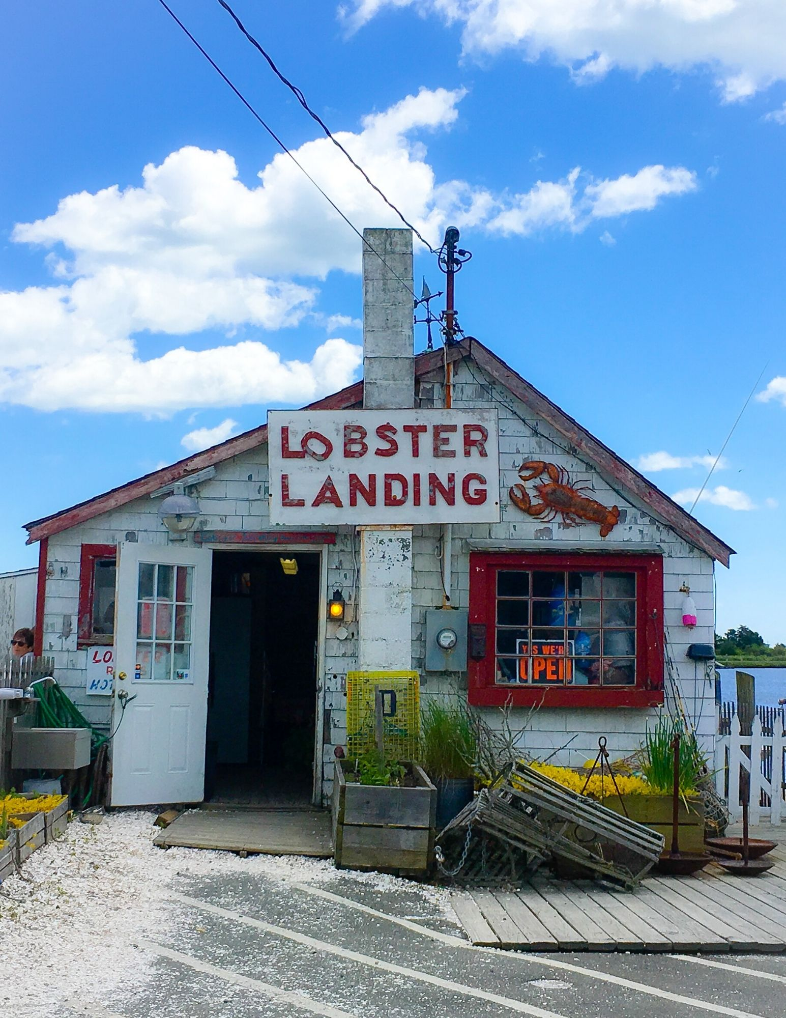 Grab a lobster roll from our favorite CT Shack Lobster Landing in Clinton, CT