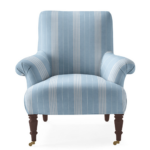 Avignon Chair in Lake Stripe $2298.00  | Serena and Lily