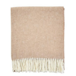 Herringbone Throw in Cashew $98 | Caitlin Wilson