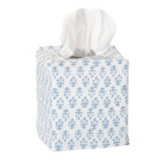 Batik Print Tissue Cover in blue $25 | Amanda Lindroth