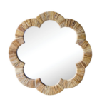 Gracie Scalloped Mirror $650 | Society Social