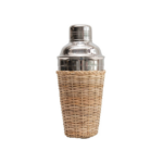 Rattan Cocktail Shaker  $28  | Brooke and Lou