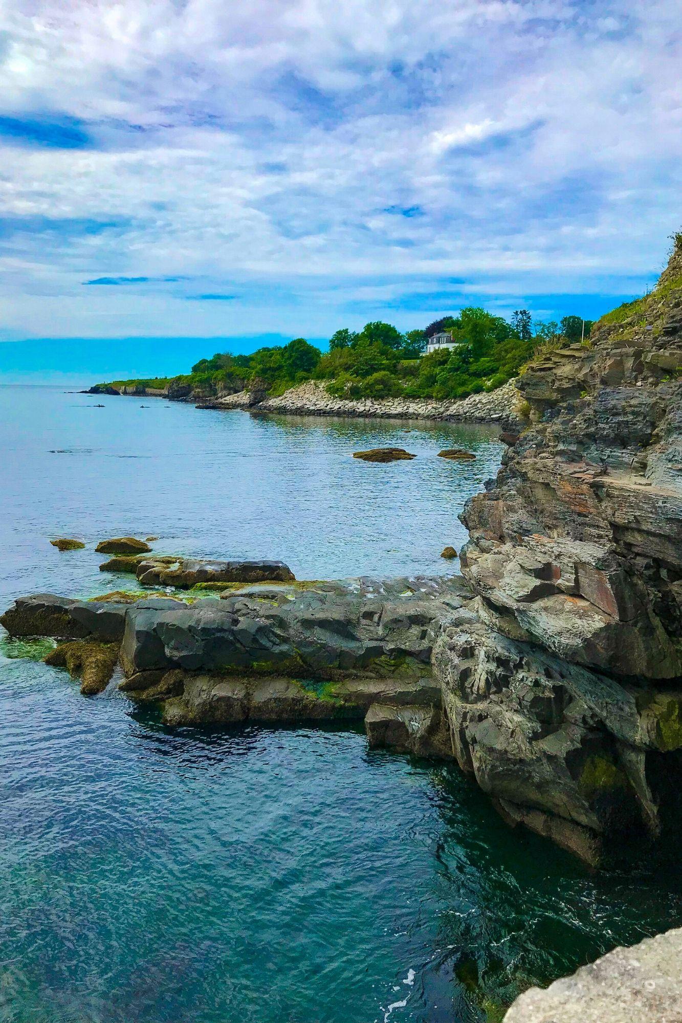 Cliff Walk in Newport Rhode Island-10