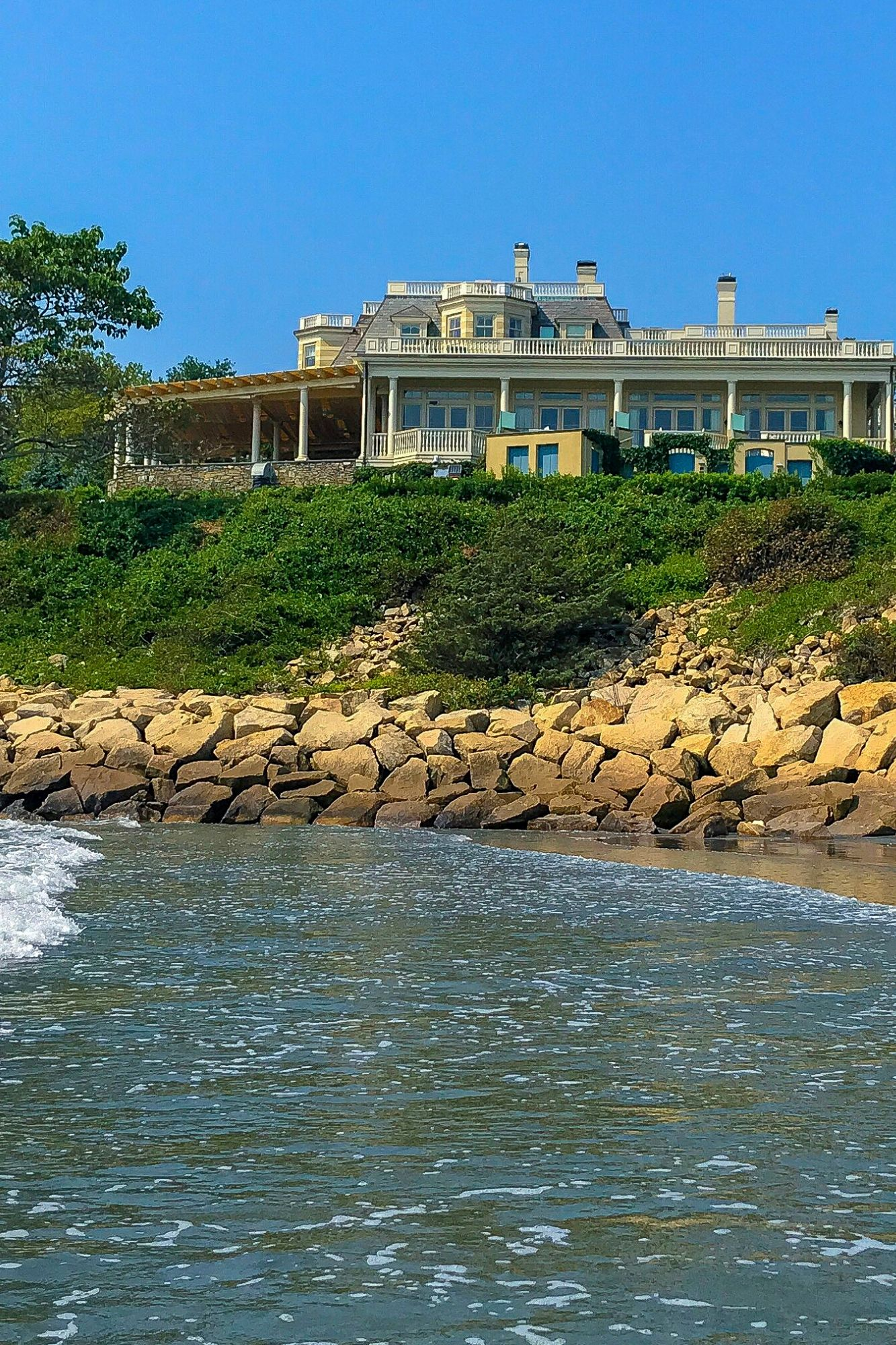 Cliff Walk in Newport Rhode Island-2