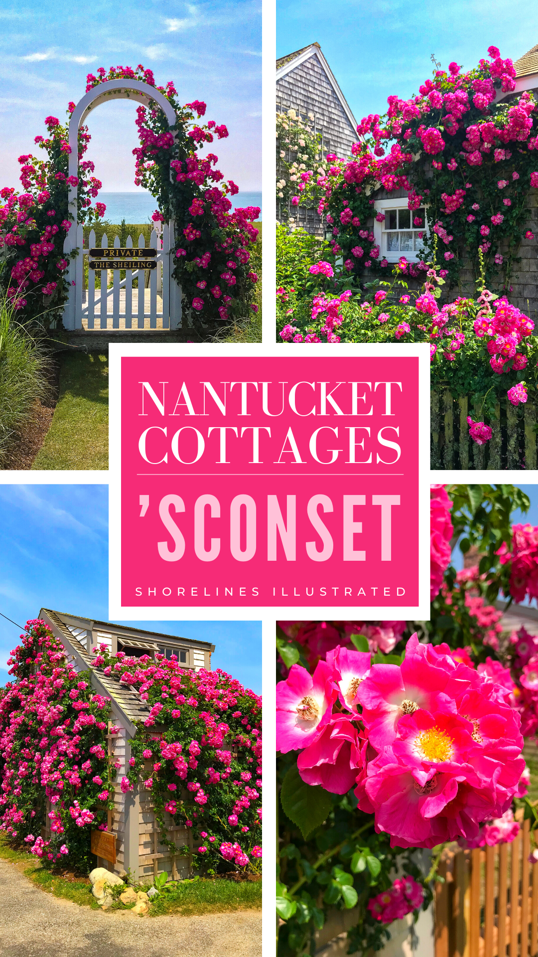 Nantucket Rose Covered Cottages in Sconset MA-3