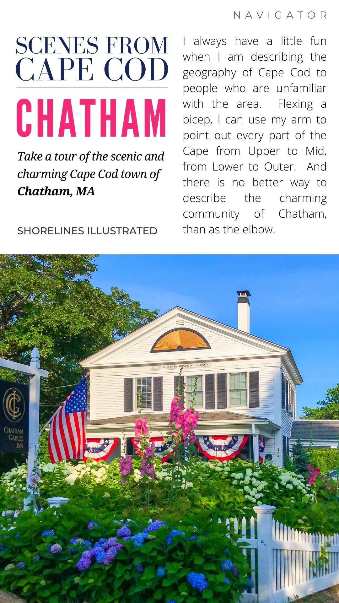 The Perfect Day in Chatham Cape Cod PINS-2