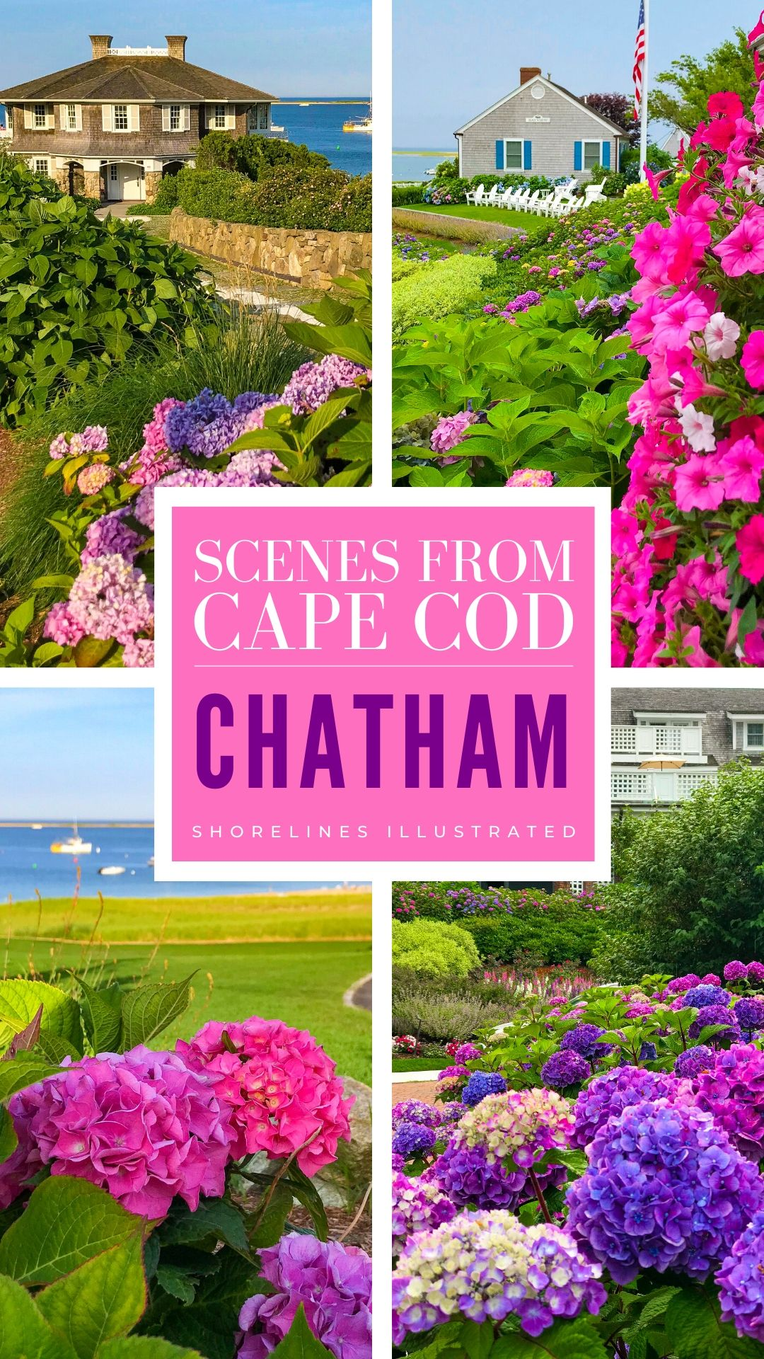 The Perfect Day in Chatham Cape Cod PINS-3