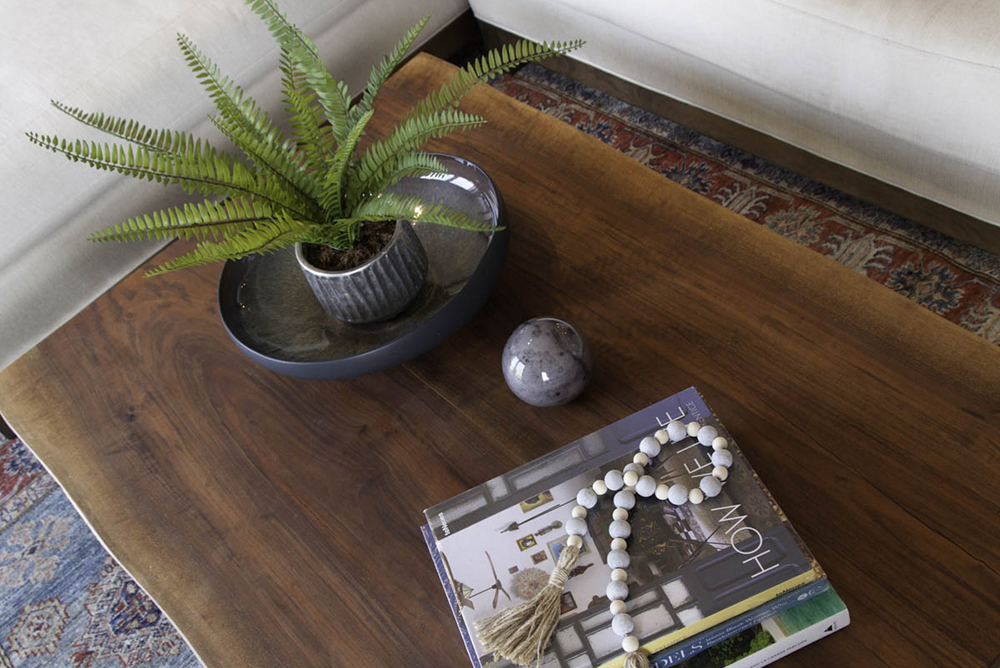Point Loma coffee table detail