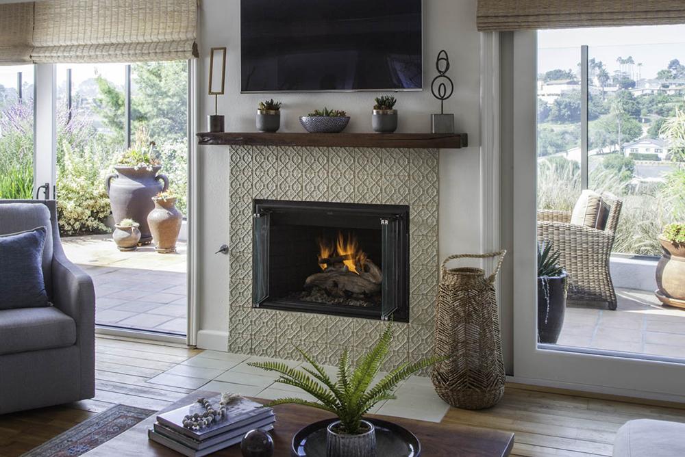 Point Loma Fireplace