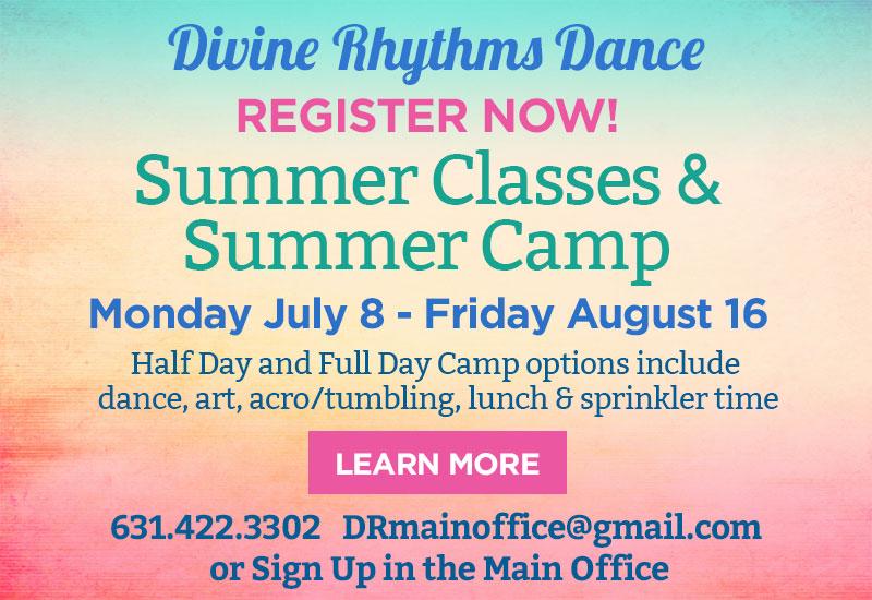Divine Rhythms Dance Summer Classes & camp