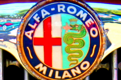 Watts 3D Car Art   Alfa Romeo #2