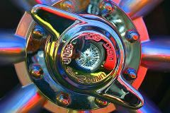 Watts 3D Car Art | Chevrolet Corvette Knockoff  #1