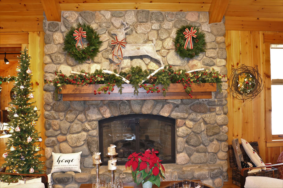 Lakeside Living Design Mantle