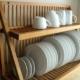 Mounted Dish Racks