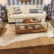 54545 lakeside living design northwoods layering rugs cowhide jute cozy winter