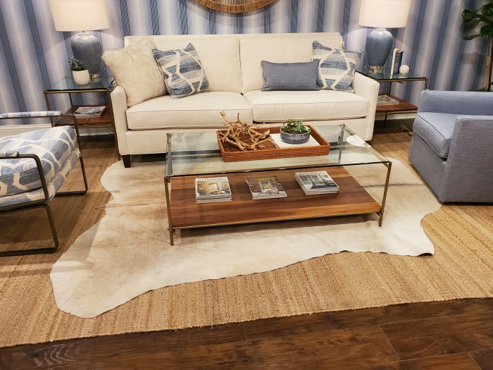 54545 lakeside living design northwoods layering rugs cowhide jute cozy winter