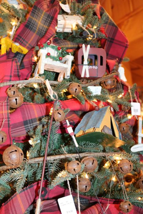 christmas ornament vintage handmade 54545 northwoods wi home decor