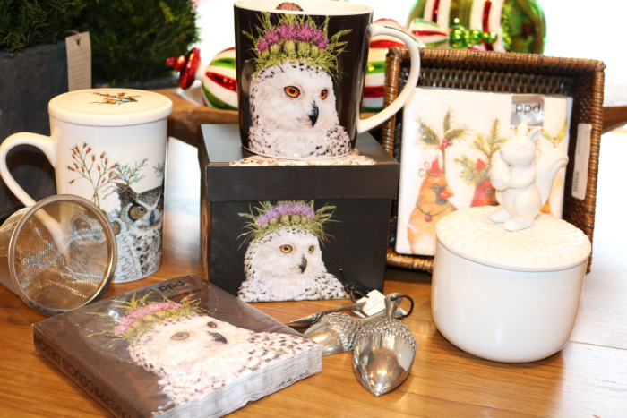 lakeside living design christmas gifts servingware owls northwoods wi