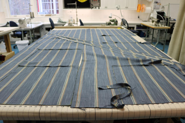 fabric cut for reupholstering furniture northwoods wi 54545 lakeside living design