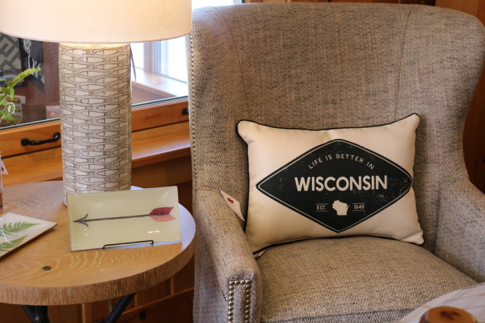 life is better in wisconsin pillow lake house decor gifts