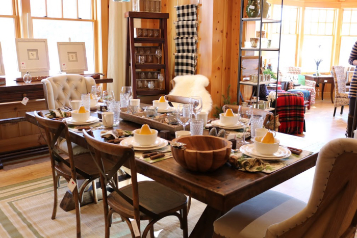 fresh dining room table mixed seating fun wood 54545 northwoods wi