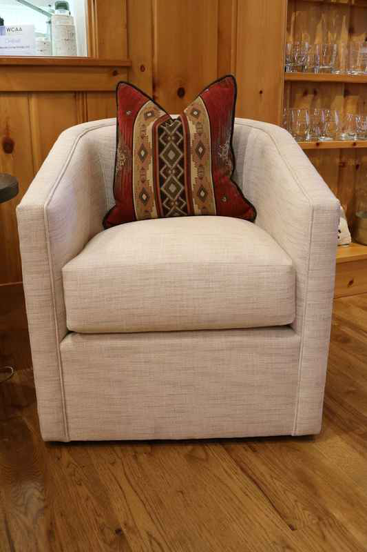 monica m|t swivel chair upholstered cream design lakeside living 54545 wi