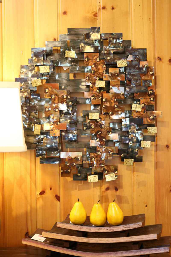 northwoods wi 54545 lakeside living cabin art abstract sculpture wood
