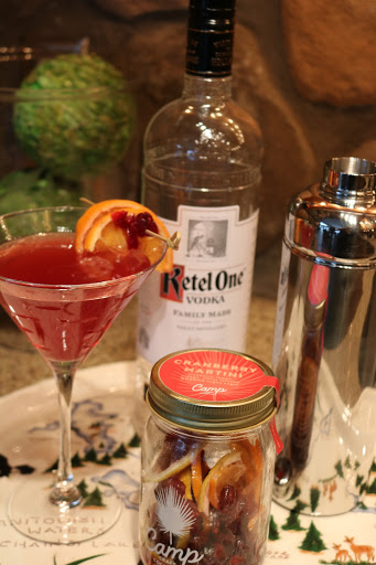 Easy Winter Cranberry Martini Manitowish Waters WI