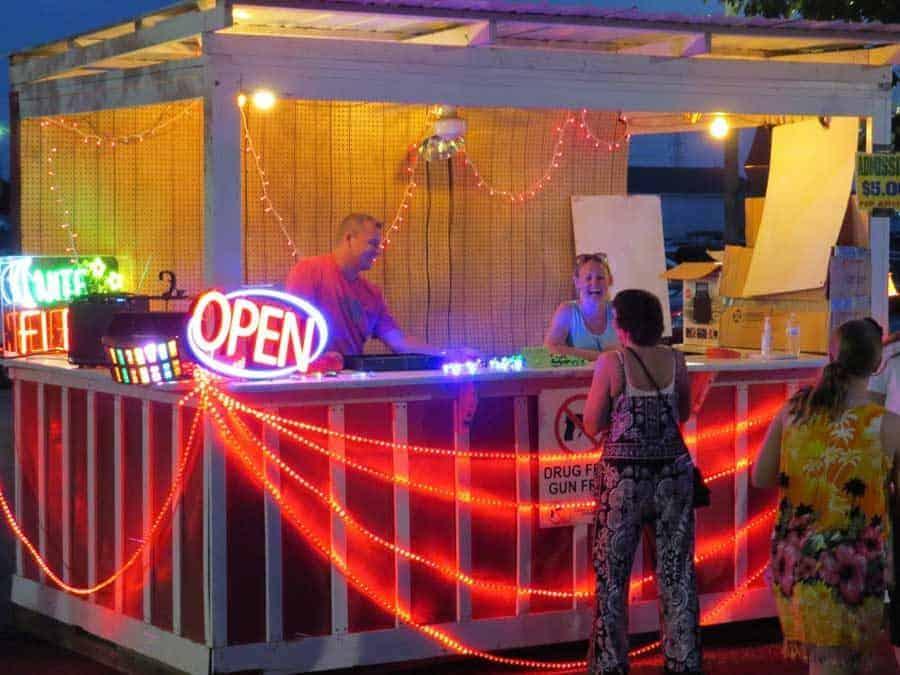 Belvidere Illinois Late Night Flea Market