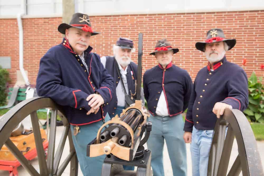 Chicago Wheaton Illinois Civil War Show