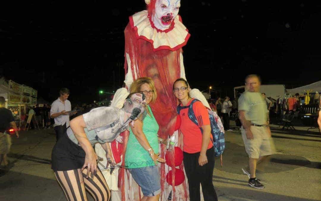 Wheaton Illinois Late Night Haunted Flea Market October 19