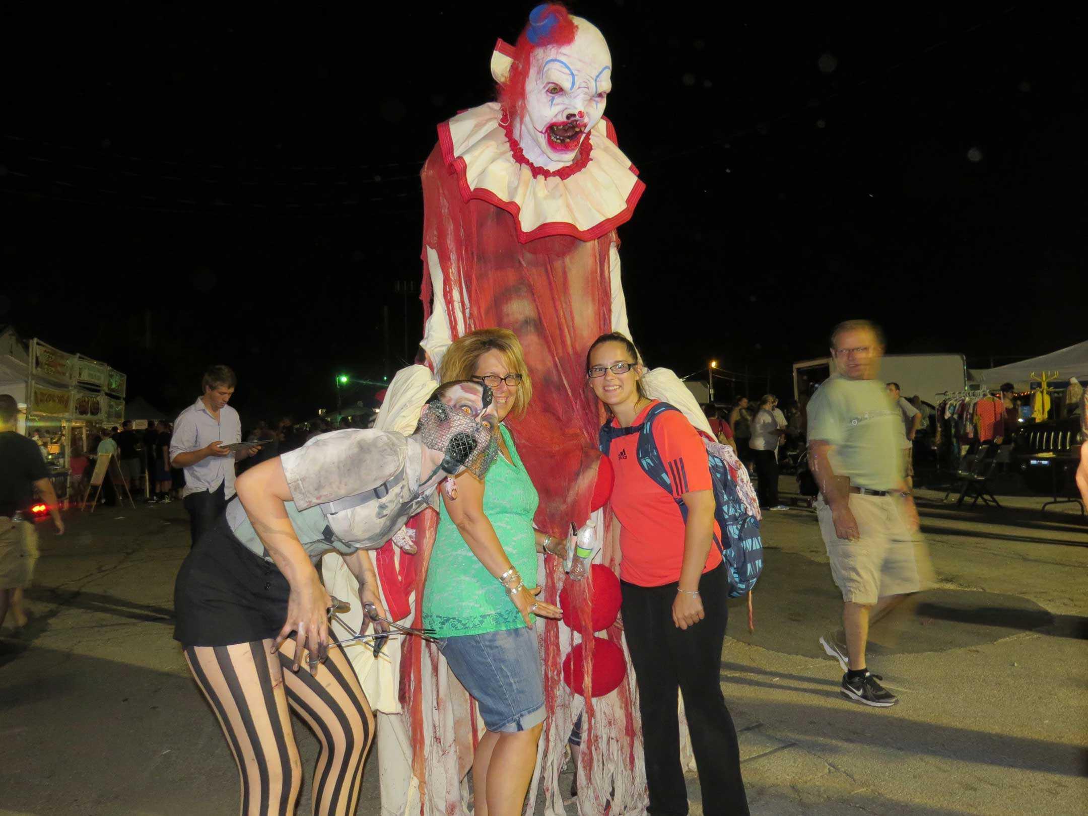 Wheaton Illinois Haunted Halloween Flea Market