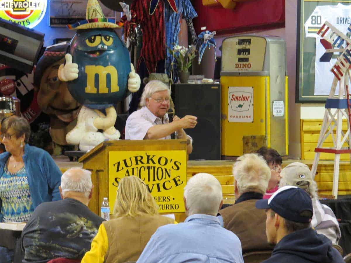 Shawano Wisconsin Auction Service