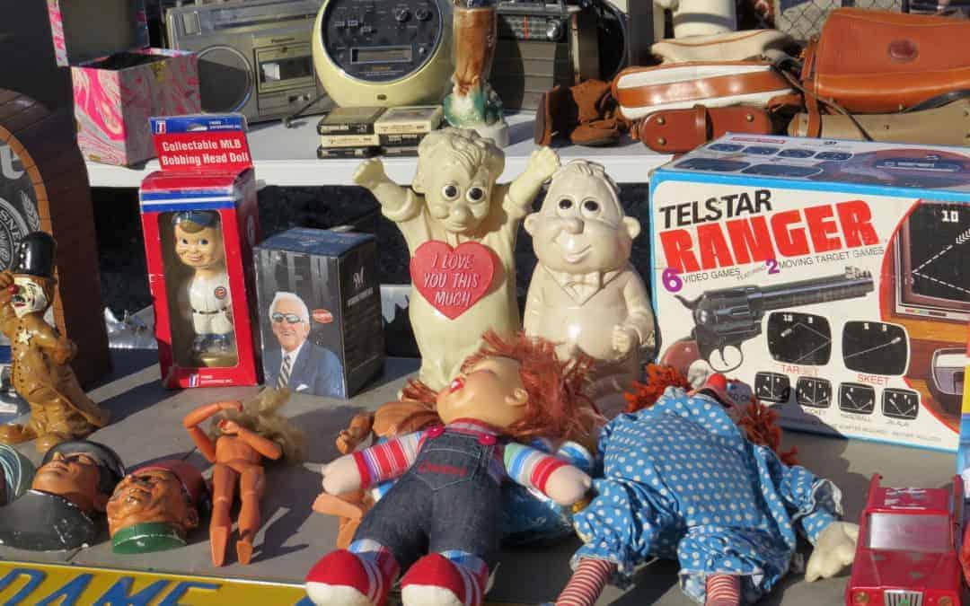 Wheaton Illinois Antique Flea Market November 22